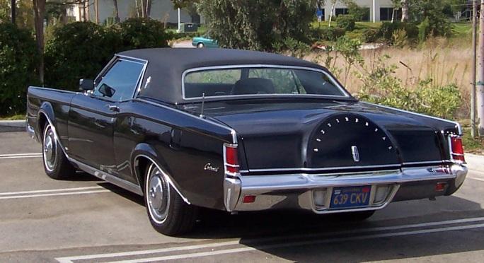 1968 Continental Mark III