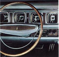 1968 Continental Mark III dash