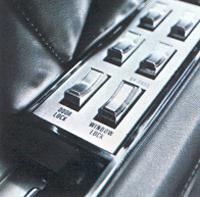 1968 Continental Mark III power windows