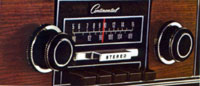 1971 Continental Mark III Radio