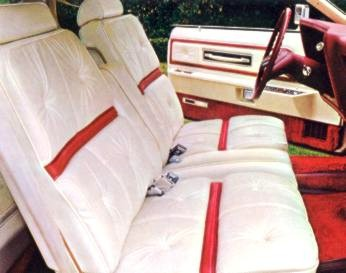 1975 Continental Mark IV - Lipstick and White Luxury Group
