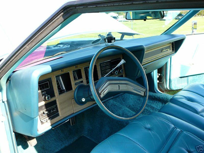 1976 Continental Mark IV Givenchy leather interior