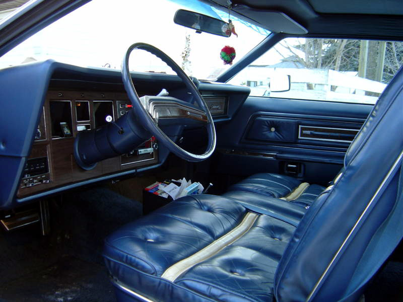1976 Continental Mark IV Bill Blass