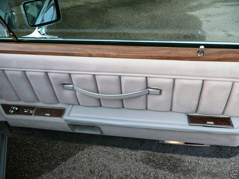 1976 Continental Mark IV Cartier door panel