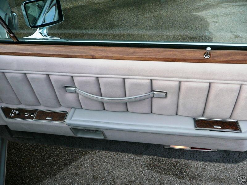 1976 Continental Mark IV Cartier door panel