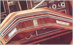1976 Continental Mark IV - cruise/speed control - optional