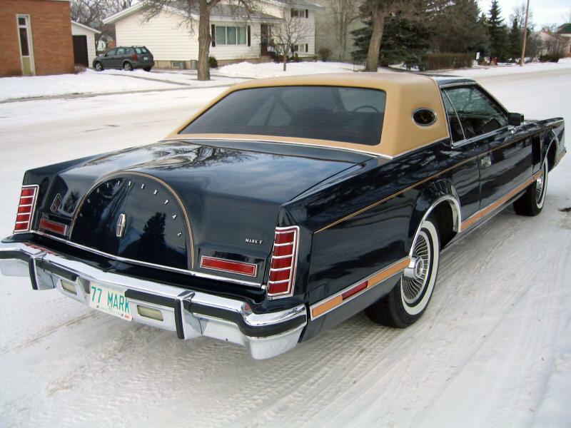 1977 Continental Mark V Bill Blass w/Landau vinyl roof