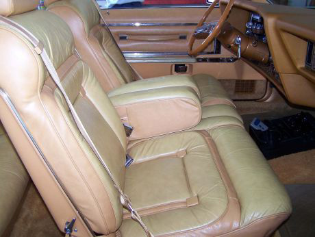 1977 Continental Mark V Bill Blass Leather interior