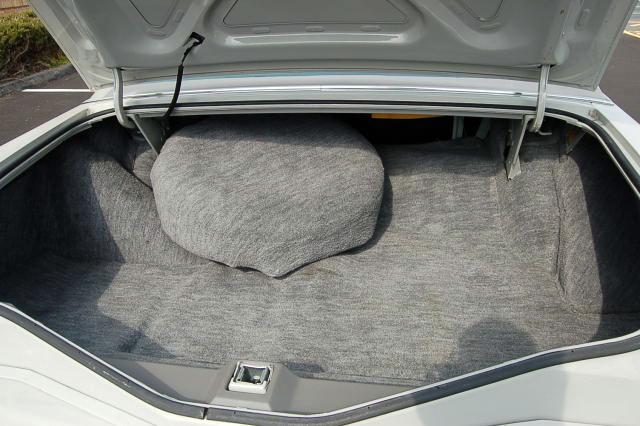 1977 Continental Mark V Cartier trunk compartment