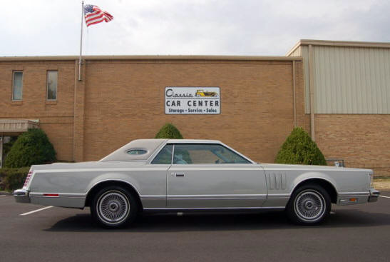 1977 Continental Mark V Cartier