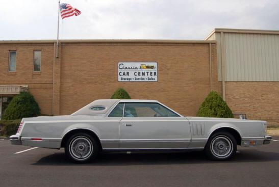 1977 Continental Mark V Cartier
