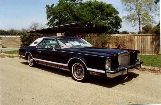 1977 Continental Mark V Pucci w/Landau vinyl roof