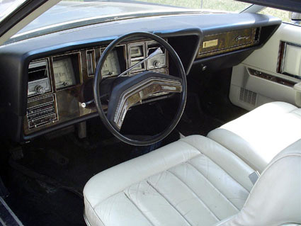 1977 Continental Mark V Pucci  instrument panel