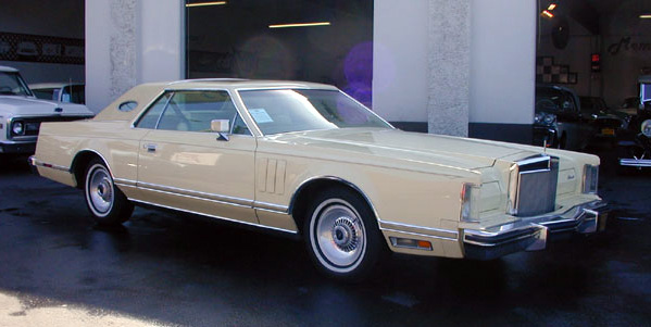 1978 Continental Mark V Cartier w/forged aluminium wheels