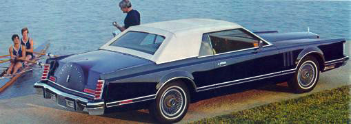 1978 Continental Mark V NEW Carriage roof option for this year