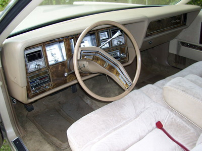 1978 Continental Mark V Cartier w/cloth interior