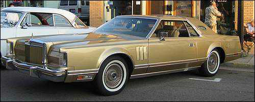 1978 Continental Mark V Diamond Jubilee Edition in Jubilee Gold