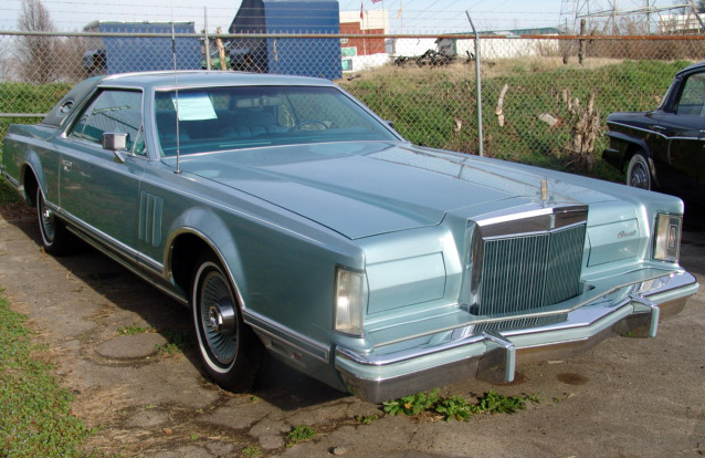 1978 Continental Mark V Diamond Jubilee Edition w/Diamond Blue grille bars
