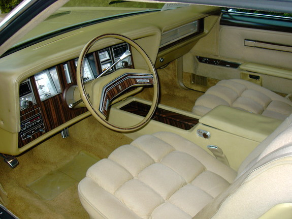 1978 Continental Mark V Diamond Jubilee Edition in Jubilee Gold cloth