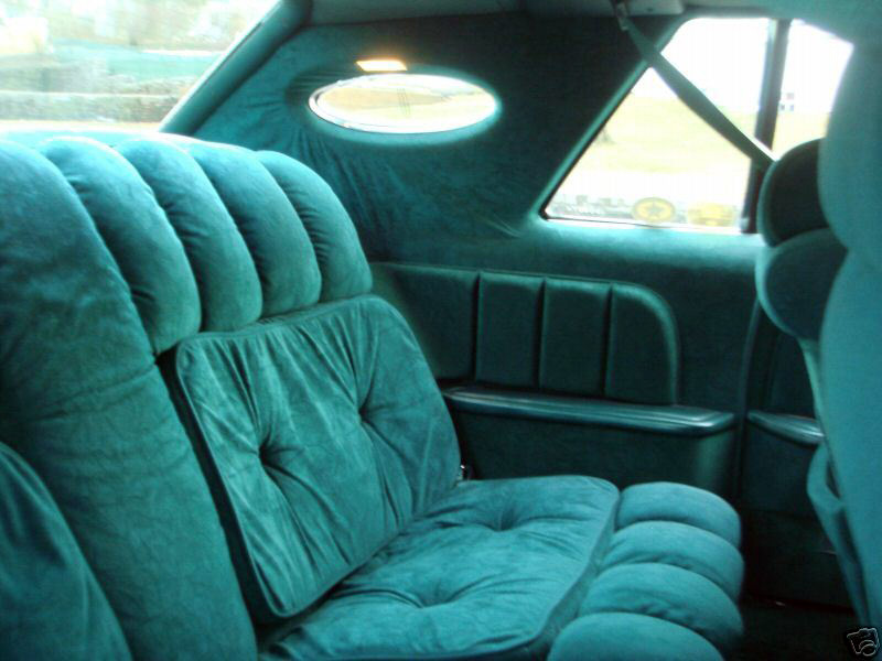 1978 Continental Mark V Givenchy w/cloth interior