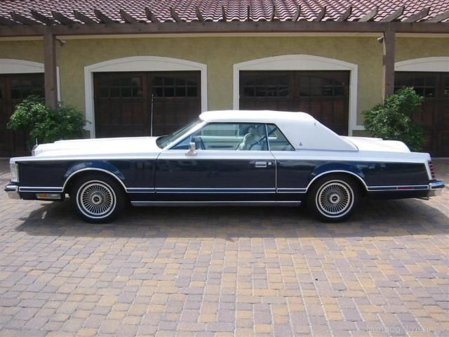 1979 Continental Mark V Bill Blass w/ Carriage Roof