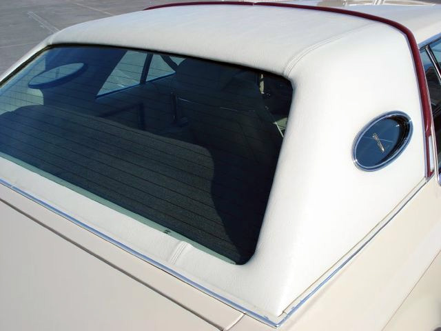 1979 Continental Mark V Cartier Landau vinyl roof
