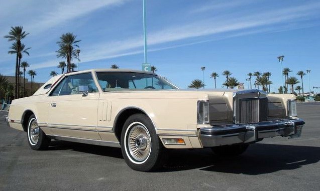 1979 Continental Mark V Cartier