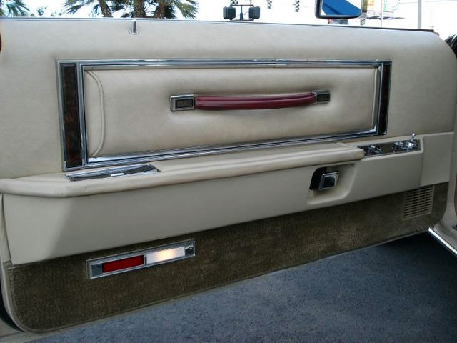 1979 Continental Mark V Cartier champagne door panel