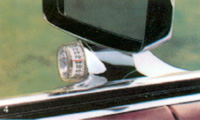 1979 Continental Mark V illuminated outside thermometer option