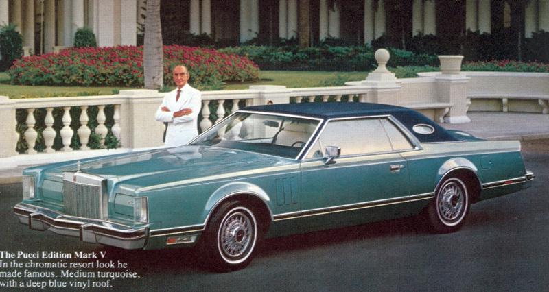 1979 Continental Mark V Pucci