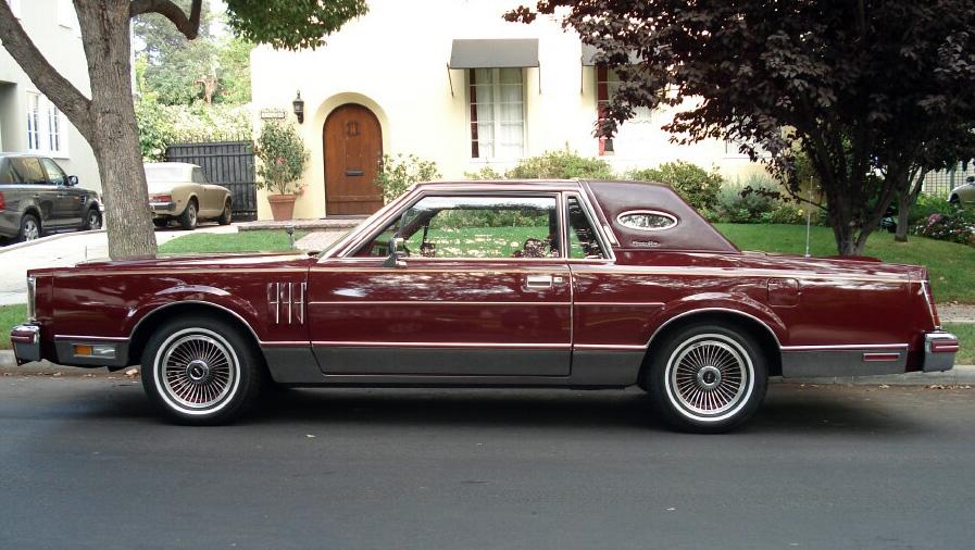 1980 Continental Mark VI Signature Series Coupe in Maroon