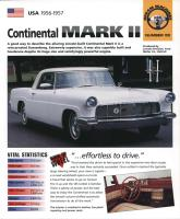 1956-57 Continental Mark II - IMP Brochure