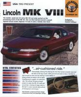 1993-98 Lincoln Mark VIII  - IMP Brochure