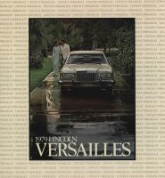 1979 Lincoln Versailles brochure / Prospekt