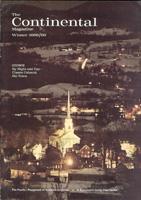 The Continental Magazine 1969 Volume 9 - Nr. 1 Winter 1968/69