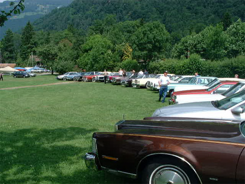 Lincoln & Continental Club Meeting 2002 - Interlaken / Switzerland