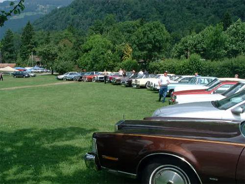Lincoln & Continental Club Meeting 2002 - Interlaken / Switzerland