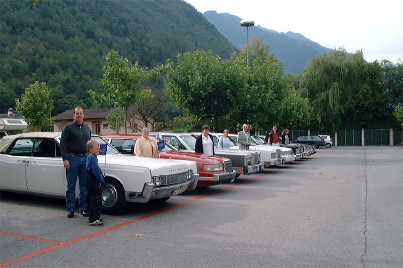 Lincoln & Continental Club Meeting in Switzerland