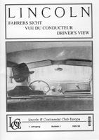 LCCE Bulletin Fahrers Sicht / Driver's View Nr. 1 - 1995