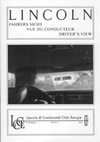 LCCE Bulletin Fahrers Sicht / Driver's View Nr. 6 - 2001