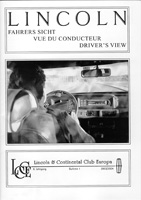 LCCE Bulletin Fahrers Sicht / Driver's View Nr. 8 - 2003/2004
