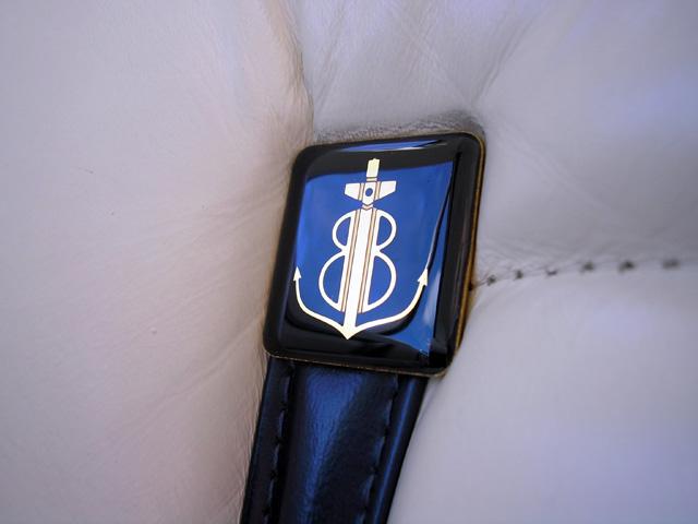 1979 Continental Mark V Bill Blass seat detail