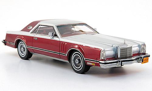 Neo / American Excellence Lincoln Continental Mark V - red/silver