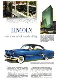 1952 Lincoln Cosmopolitan