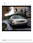 2009 Lincoln Town Car Brochure