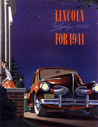 1941 Lincoln Zephyr Brochure